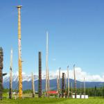 Kispiox Totem Poles, Hazelton BC Area